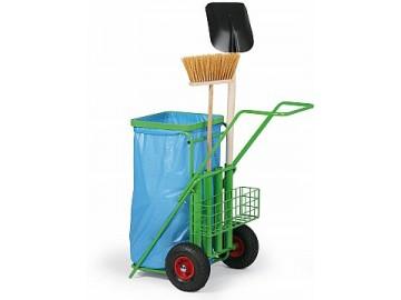 Úklidový vozík pro venkovní prostory NP 3400