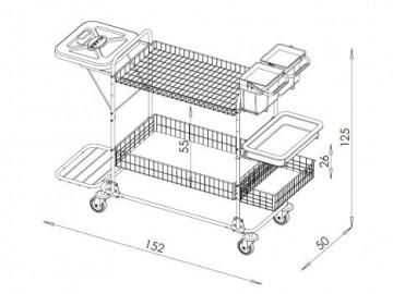 Manipulační vozík NP 1223v