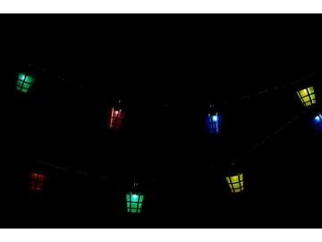 Barevné osvětlení - 20 LED lucerniček - 8 cm