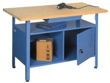 Ponk - dílenský stůl NP 1316, 1 zásuvka