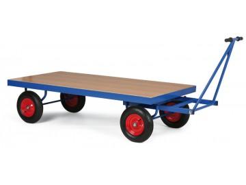 Plošinový vůz  s ojí, nosnost 500 kg