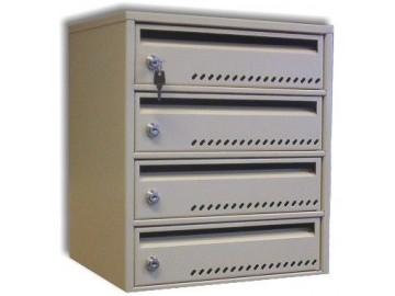 Modulová poštovní schránka NP 1344, 4 boxy