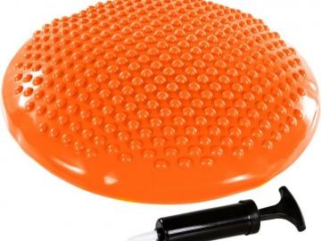Balanční polštář na sezení MOVIT 37 cm, oranžový