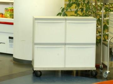 Odpadkový koš na tříděný odpad EM 4x30 l