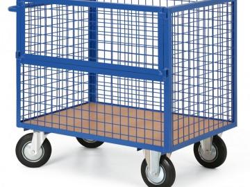 Skříňový vozík, výplň síto