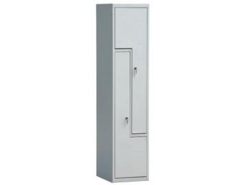 Kovová šatní skříň NP-1541, dveře tvaru L