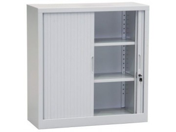 Kancelářská skříň NP 1659, 1030x1000x400 mm, žaluziová