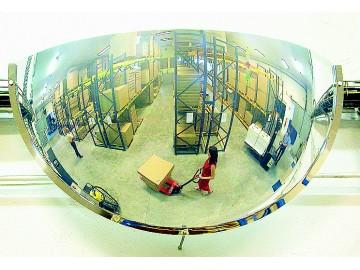 Hemisférické horizontální zrcadlo, PMMA 3695