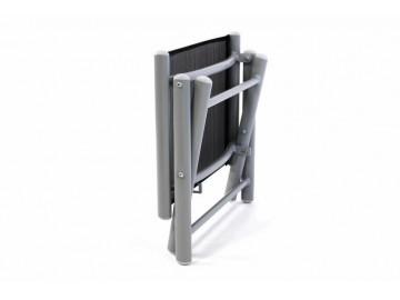Hliníková zahradní stolička - skládací