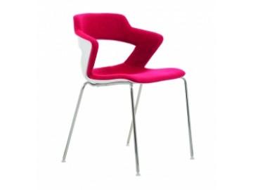 Konferenční židle 2160 TC AOKI čal. sedák + opěrák