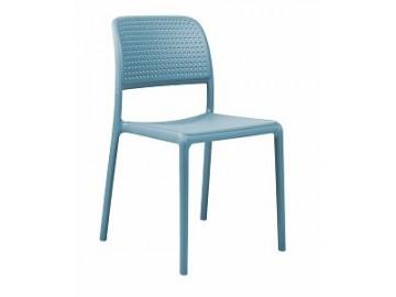 Odolná plastová židle BORA, nosnost 200 kg