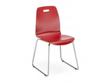CAFE II, CFS , chrom- kavárenská židle