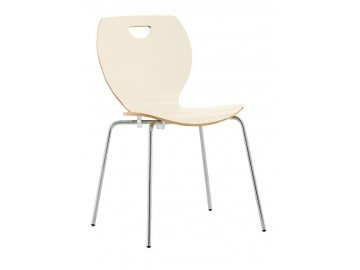 CAFE V, chrom- kavárenská židle