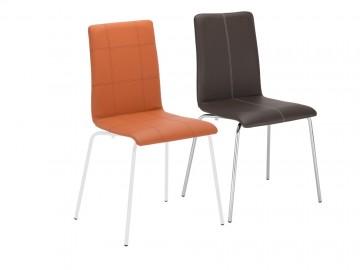CAFE VII chrom- kavárenská židle