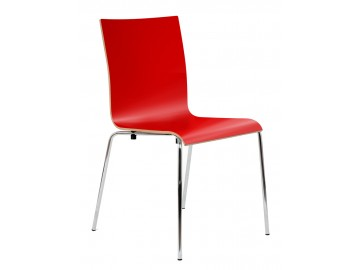 CAFE X, chrom- kavárenská židle