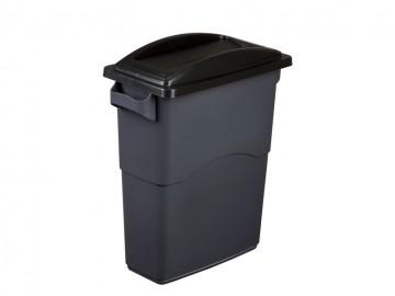 Odpadkový koš na tříděný odpad ECOSORT, 85 l