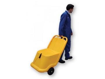 Příruční vozík na posypový materiál 75 litrů