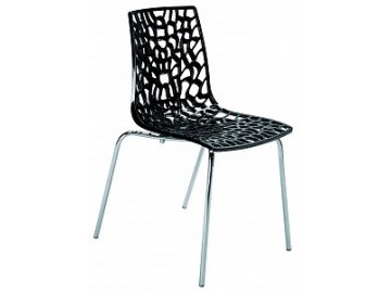 Designová plastová židle NP-GROOVE
