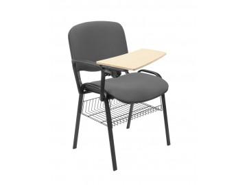 Konfernční židle ISO alu, čalouněná