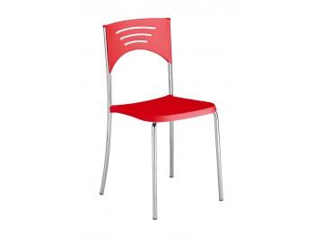 LULA - kavárenská plastová židle