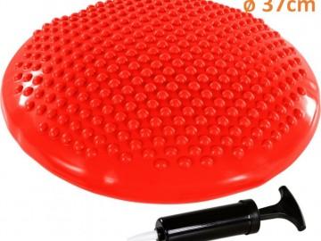 Balanční polštář na sezení MOVIT 37 cm, červený