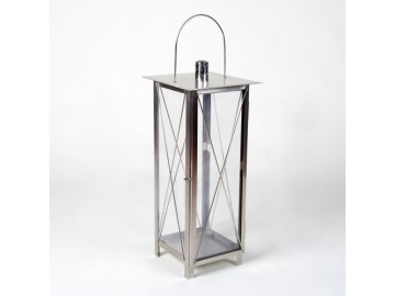 Lucerna Garth z ušlechtilé oceli, 65 cm