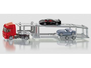 Hračka Siku Super Transportér pro přepravu osobních aut, 1:50