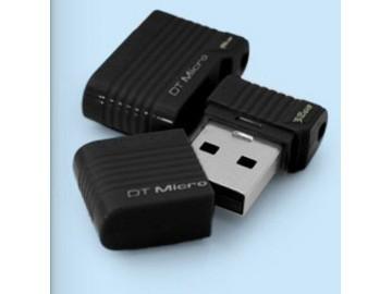 Flashdisk Kingston DataTraveler Micro 16GB black