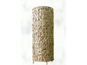 Dekorativní stínidlo nízké - kulaté hyacint natur