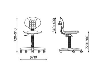 Dílenská židle Nargo RTS