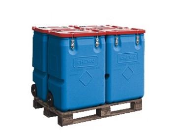 Kontejner na nebezpečné látky 250 l