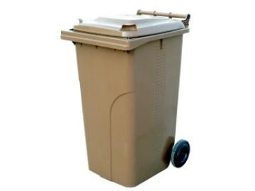 Plastová popelnice EP 120 l, na BIO odpad