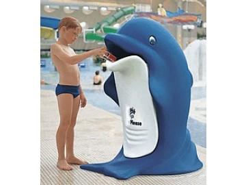 Odpadkový koš plastový, Delfín