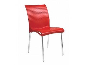 Stohovatelná plastová židle REGINA IN, nosnost 120 kg