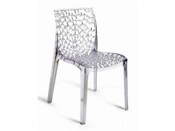 Designová plastová židle NP-GR polykarbonát